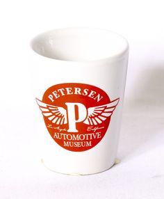 Petersen Red & White Shot Glass