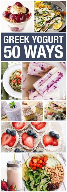 Check out these yummy recipes using greek yogurt!