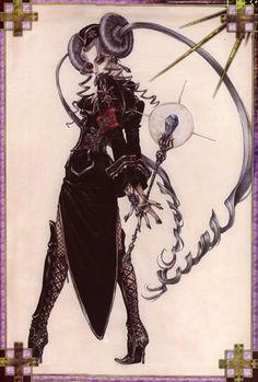 Trinity Blood - Helga von Vogelweide (Rosenkreuz - Ice Witch)