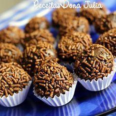 Receitas Dona Julia Blog de Culinária, Gastronomia e Receitas por Geisa Lopes: BRIGADEIRO VEGANO DE AVEIA