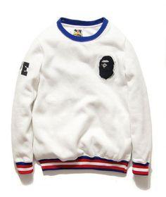 12352ee1e2 Bape A Bathing Ape Jacket golf Sweater