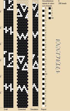 6 around tubular bead crochet rope pattern Bead Crochet Patterns, Bead Crochet Rope, Beaded Jewelry Patterns, Peyote Patterns, Bracelet Patterns, Beading Patterns, Beaded Crochet, Bracelet Crochet, Beaded Bracelets