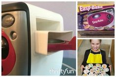 Those little packages of mix for the Easy Bake oven can be pricey. This page contains Easy Bake Oven recipes.