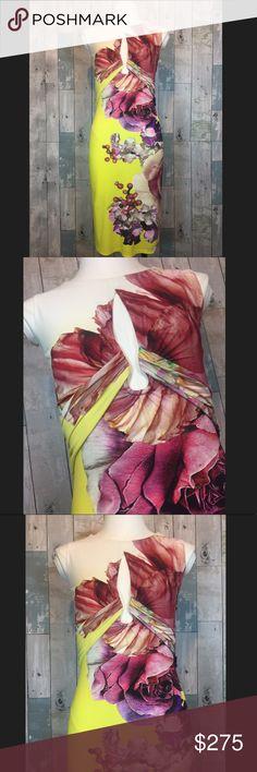 Roberto Cavalli Cut-out Dress Ah-mazing piece!!! Excellent condition. Roberto Cavalli Dresses Midi