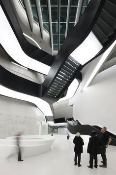 MAXXI - Museum of the Arts of the XXIth century in Rome by Zaha Hadid Architects