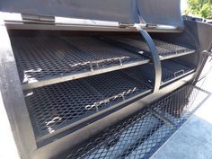 This smoker has a diameter barrel , the smoker is reverse flow , and the smoker has a prep counter. Barbecue Pit, Bbq Grill, Grilling, Bbq Smoker Trailer, Custom Bbq Pits, Backyard, Patio, Metal Projects, Blacksmithing