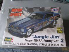 Revell Vega NHRA Jungle Jim Funny Car Kit 85 4288   eBay