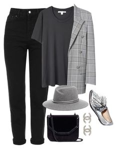 """""""Untitled #4473"""" by magsmccray on Polyvore featuring Topshop, Acne Studios, Alexander Wang, STELLA McCARTNEY and Chanel"""
