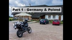 Motorcycle Trip to Mongolia Yamaha XT 660 Z - Germany and Poland - Part 1 Germany Poland, Motorcycle Travel, Mongolia, Yamaha