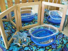 Mirrors! Irresistible Ideas for play based learning
