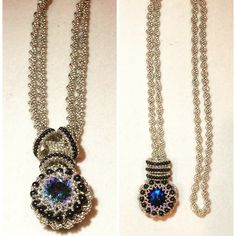 Eclipse Necklace Pattern by Leslee Frumin