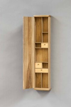 Wall Hanging Cabinet Acirc Laquo The Krenov School Of Fine Furniture Unique Woodworking, Easy Woodworking Projects, Woodworking Furniture, Woodworking Plans, Wood Projects, Fine Furniture, Unique Furniture, Wood Furniture, Furniture Design