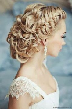 Curly Bun wedding Hairstyles for 2013