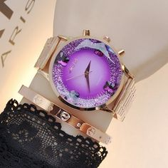 >>>Pandora Jewelry OFF! >>>Visit>> Top Quality Fashion Gold Rose Gold Stainless Steel Round Dial Quartz Wristwatches Watch Hours Clock for Women Ladies Fashion trends Fashion designers Casual Outfits Street Styles Elegant Watches, Stylish Watches, Beautiful Watches, Cool Watches, Watches For Men, Nixon Watches, Gold Fashion, Trendy Fashion, Ladies Fashion