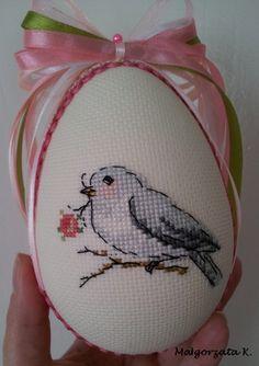 Easter eggs, easter ornaments, cross stitch, пасха, pasqua, pisanky, haftowane pisanki, handmade