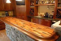 Stellar Copper Bartop Colorcopper Bar Top Epoxy