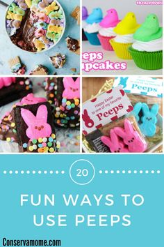 Ways To Use Peeps