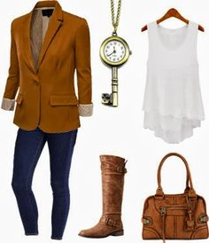 Cute winter outfit with boots 2013 ~ New Women's Clothing Styles & Fashions