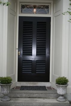 Louvered Exterior Door Wooden Garage Doors Side Hinged Garage Doors Doors