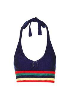 Halter Crochet Bralet $8