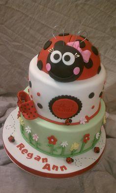Birthday Cake Photos - Ladybug Birthday