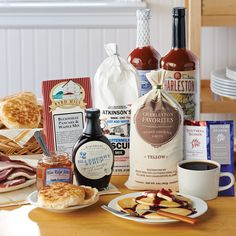Southern Breakfast Basket - Gift Baskets, Towers & Samplers - Gifts & Gift Baskets Everything