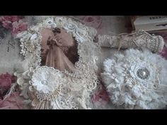 Shabby mini wall hanging for Nadine Basso :) Diy And Crafts, Shabby Chic, Channel, Flower Girl Dresses, Victorian, Wedding Dresses, Mini, Wall, Youtube