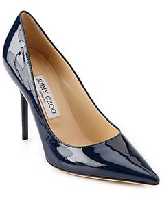 Jimmy Choo Abel Patent Pointy Toe Pump