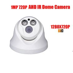 free shipping HD Surveillance 2000TVL Dome CCTV Camera 1MP AHD Camera 720P Security IR 20M Nightvision Work For AHD DVR #Affiliate