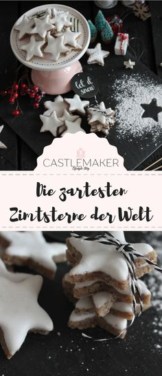 REZEPT: Die zartesten Zimtsterne zum Nachbacken The most delicate cinnamon stars in the world only need very few ingredients. If you pay attention to the drying and baking time, they are guaranteed to be soft and by no means as… Continue Reading → Cookies Cupcake, Star Cookies, Best Christmas Cookies, Christmas Baking, Few Ingredients, Christmas Fashion, Love Food, Cookie Recipes, Food To Make