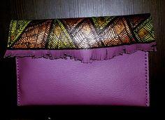 Pochette Kaindee ethnique motif wax