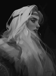 ArtStation - Character Design II, Roanna Peroz