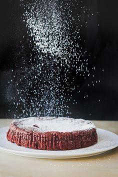 Milk and Honey: Flourless Chocolate Pecan Cake