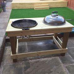 diy outdoor k che diy do it yourself ideen. Black Bedroom Furniture Sets. Home Design Ideas