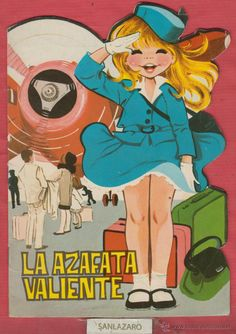 LA AZAFATA VALIENTE-CUENTOS INFANTILES TROQUELADOS-EDICIONES TORAY-8 PAGS-1965-BARCELONA-LJ891 - Foto 1