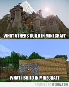 For me, what happens is I get bored a part of the way through, decide to blow it up with tnt, realize that would destroy too much land, start disassembling it block by block and then get bored and leave it to rot. Why isn't there an undo button?!?