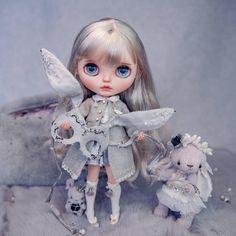 🐰👄#Blythe #Blythedoll #customBlythe #noise #noisedoll #Blythecustom #doll