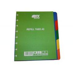 Intercalaires 5P ADOC A5