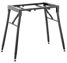 KM 18950 professional keyboard stand/folding table - heavy-duty all-purpose stand, suitable for any use