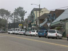 A little quaint town    Cambria, California