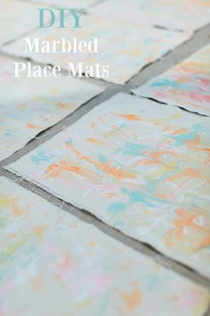 diy-marbled-place-mats