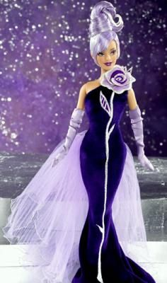Sterling Silver BARBIE for Avon by Bob Mackie.