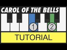 Carol of the Bells - How to Play - Easy Piano Tutorial - YouTube