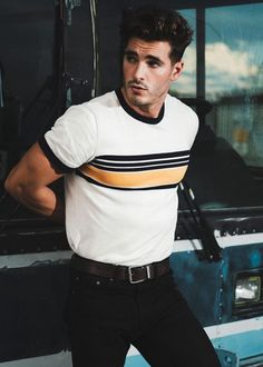 Andrew Biernat, Men's Fashion, Style, Clothing, Male Model, Good Looking, Beautiful Man, Guy, Handsome, Hot, Sexy, Eye Candy メンズファッション 男性モデル