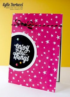 Enjoy the Little Things stamp set by Stampin' Up!