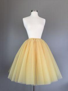 Gold Tulle Skirt Adult Bachelorette Tutu by Morningstardesignsmi