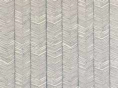 Papier peint à motifs en tissu non tissé HERRINGBONE by ferm LIVING