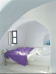 I want a bed in an alcove...
