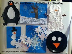 Winter Themes Activities for Toddlers :: LadybugsAndLattes  Finger plays