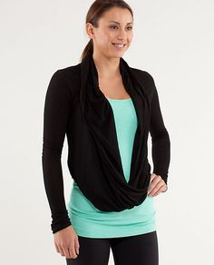 Just bought this #Lululemon Iconic Wrap...Gorgeous!  Love love love Lulu!